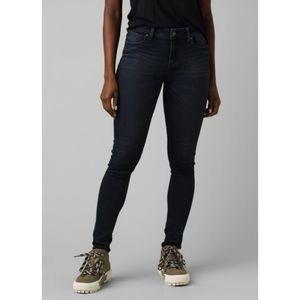 NWT Prana Soma Skinny Jeans Tinted Black